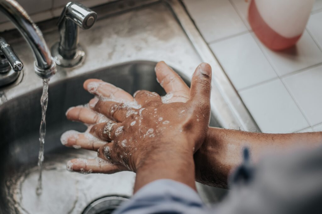 Personal hygiene and hand washing